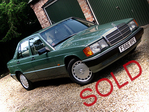 For Sale - Mercedes 190E 2.6